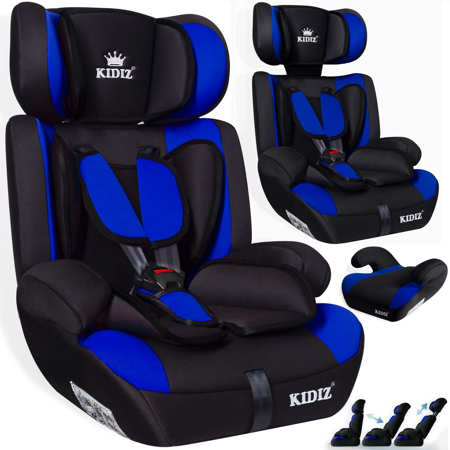 kidiz autokindersitz autositz kinderautositz 9 36 kg gruppe 1 2 3 kindersitz sl ebay. Black Bedroom Furniture Sets. Home Design Ideas